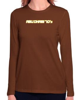 Capital 70 Retro Abu Dhabi Long Sleeve T-Shirt-Womens