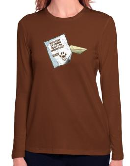 What Part Of Meow Dont You Understand? - British Shorthair Letter Long Sleeve T-Shirt-Womens