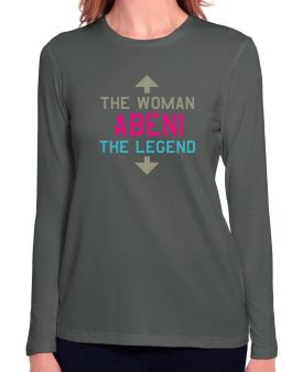 Abeni - The Woman, The Legend Long Sleeve T-Shirt-Womens
