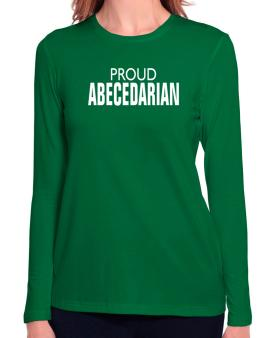 Proud Abecedarian Long Sleeve T-Shirt-Womens