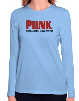 PUNK Long Sleeve T-Shirt-Womens