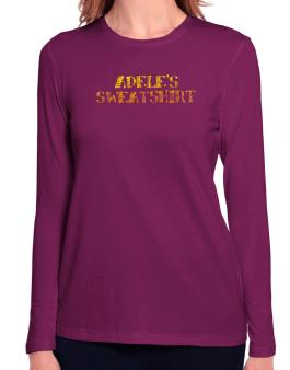 """ Adeles Sweatshirt "" Long Sleeve T-Shirt-Womens"