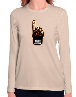""" Adeles secret admirer "" Long Sleeve T-Shirt-Womens"