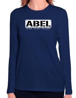 Abel : The Man - The Myth - The Legend Long Sleeve T-Shirt-Womens