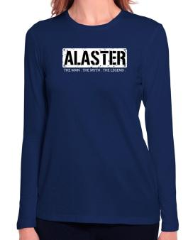 Alaster : The Man - The Myth - The Legend Long Sleeve T-Shirt-Womens