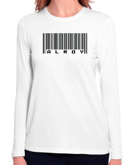 Bar Code Alroy Long Sleeve T-Shirt-Womens