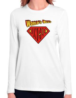 Worlds Best Uncle Long Sleeve T-Shirt-Womens