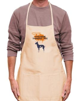 Owned By A Peruvian Hairless Dog Apron