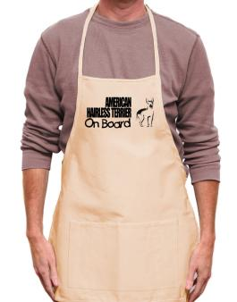 American Hairless Terrier On Board Apron