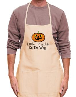 Little Pumpkin On The Way Apron