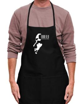 Canada - Barcode With Face Apron
