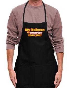 My Baboon Is Smarter Than You! Apron