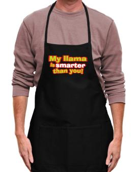 My Llama Is Smarter Than You! Apron