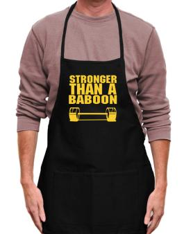 Stronger Than A Baboon Apron
