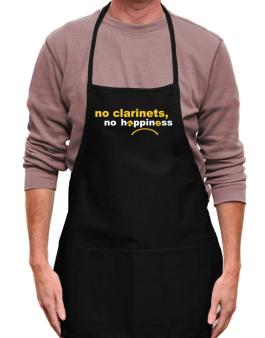 No Clarinets No Happiness Apron