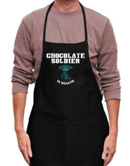 Chocolate Soldier Is Health Apron