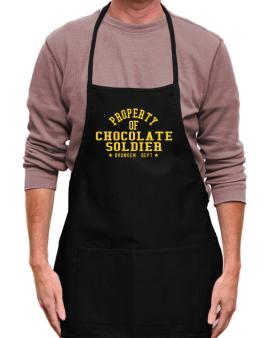 Property Of Chocolate Soldier - Drunken Department Apron