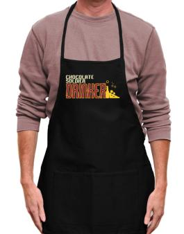 Chocolate Soldier Drinker Apron
