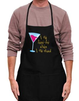 I Am Teeny Tiny When I Am Drunk Apron