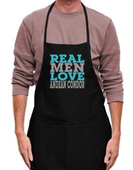 Real Men Love Andean Condor Apron