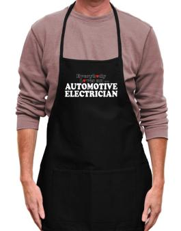 Everybody Loves An Automotive Electrician Apron