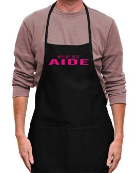 Worlds Best Aide Apron