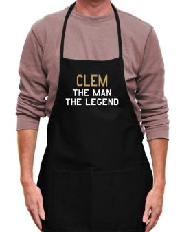 Clem The Man The Legend Apron