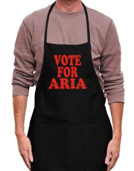 Vote For Aria Apron