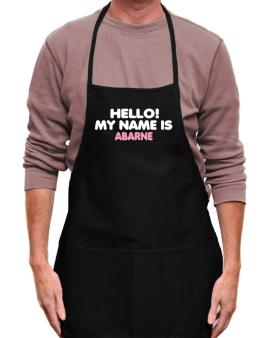 Hello! My Name Is Abarne Apron