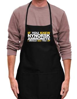 If You Knew Ammonite I Would Sex You Up Apron
