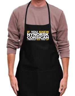 If You Knew Corsican I Would Sex You Up Apron