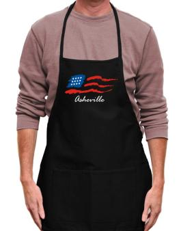 Asheville - Us Flag Apron