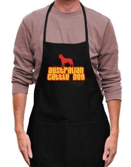 Breed Color Australian Cattle Dog Apron