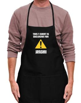 This T-shirt Is Exclusive For Jayashri Apron