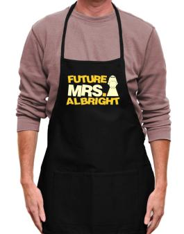 Future Mrs. Albright Apron