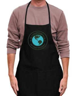 Anthroposophist Not From This World Apron