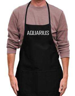Aquarius Basic / Simple Apron
