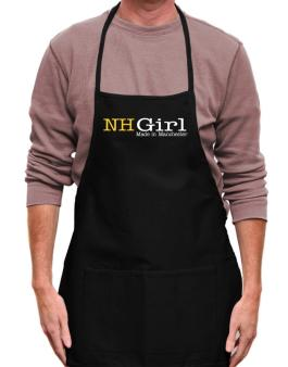 Girl Made In Manchester Apron