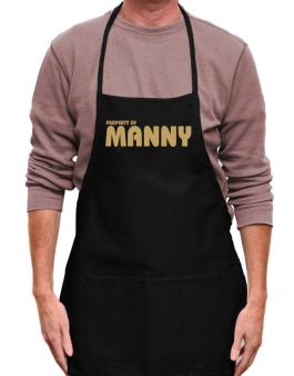 Property Of Manny Apron