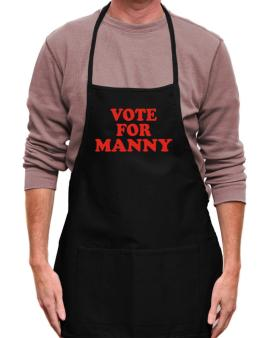 Vote For Manny Apron