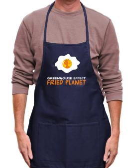 Greenhouse Effect - Fried Planet Apron