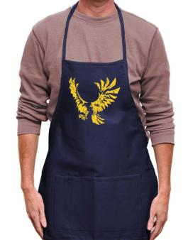 Eagle With Open Wings Apron