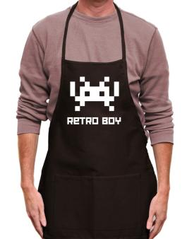 Retro Boy Apron