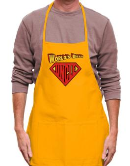 Worlds Best Uncle Apron