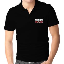 Whiskey Kills You Slowly - I Dont Care, Im Not In A Hurry! Polo Shirt
