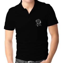 Labradoodle Face Special Graphic Polo Shirt