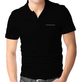 I Love Wiccan Guys Polo Shirt