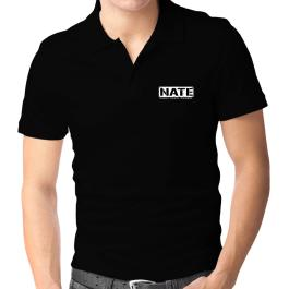 Nate : The Man - The Myth - The Legend Polo Shirt