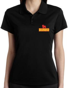 Breed Color Bolognese Polo Shirt-Womens