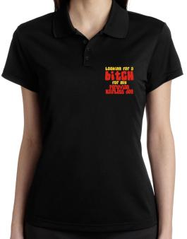 Looking For A Bitch For My Peruvian Hairless Dog Polo Shirt-Womens